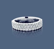 Diamant Ring Weißgold 1,01 Karat Top Wesselton weiß Brillanten Manufaktur Neu