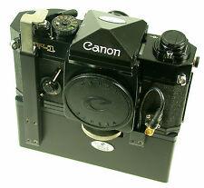 CANON F-1 alt old CPA film speed gain push Erfindung PRÜFERT collection
