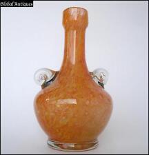 VINTAGE ART DECO ITALIAN MURANO CRYSTAL GLASS VASE