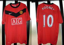 maglia shirt manchester rooney nr 10 usata L perfetta