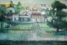 """Open House"" by ALEX ZWARENSTEIN! Hand Signed Original Oil Painting! Rare Find!"