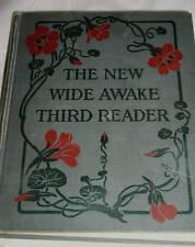 VINTAGE THE NEW WIDE AWAKE THIRD READER 1930