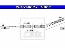 ATE 24.3727-0202.2 Seilzug, Feststellbremse   BMW 2er 2er Touring 1500-2000