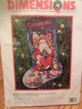 Dimensions Santa's Finest Stocking Cross Stitch Kit