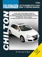 Chilton 70404 Repair Manual 2006 - 2011 Volkswagen Jetta/Rabbit/GTI/Golf