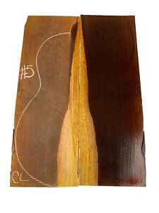 Cocobolo Rosewood CLASSICAL Guitar Back /OM, Top Set, Luthier Tonewood, #05
