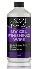 Cleaner UV Nail Gel Finishing Wipe Sticky Residue Remover cleanser 50 ml