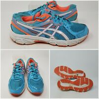 Asics Gel Contend 2 Blue Athletic Running Tennis Shoes Sneaker Women's Size 8.5