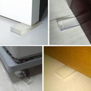 4PCS Soft Plastic Door Stopper Safety Door Wedge Door Top Anti-Collision Block