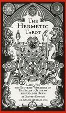 Hermetic Tarot by Stuart R. Kaplan and Godfrey Dowson (2010, Paperback)