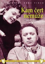 Kam cert nemuze (When the Woman Butts In) DVD box Czech Movie English Subtitles