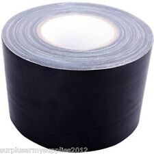 4.5 METRE GAFFER TAPE ARMY BLACK NASTY GAFFA DUCT HUNTING SHOOTING AIRSOFT