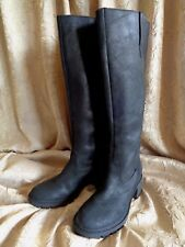 Rockport~Round Toe~Blk Leather~Knee High~Waterproof~Boots~Wmns Size 5 1/2~NWOB