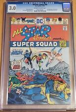 All-Star Comics #58 CGC 3.0 1976 1st Appearance Power Girl Kara Zor-L Key