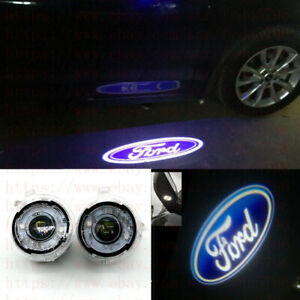 Ghost Shadow LEDS Side Rear View Mirror Puddle Lights For 2010-18 Ford Explorer