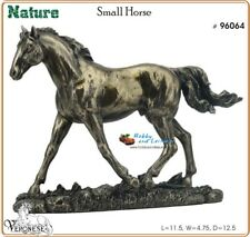 Horse Trotting, Cold Cast Bronzed Resin Horse Figurine Veronese Veronese 6064
