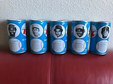 BLACK AMERICANA RC Cola Vintage Baseball MLB Cans 1976  BILL MADLOCK ETC ..