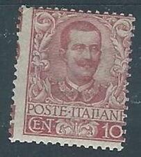 1901 REGNO FLOREALE 10 CENT MH *  - RR2828-3