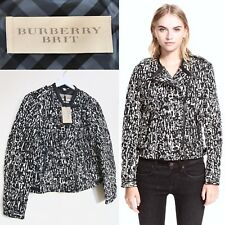 Burberry Coat Jacket Feather Down Filled Puffer Coat Black XL UK 14 - 16 BNWT