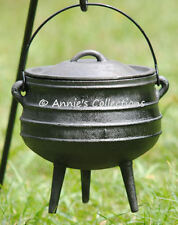 Bean pot Cast iron Cauldron Sz1 Potjie pot Kettle Survival Dutch Oven