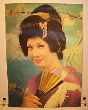 Vintage Japan Stereo Postcard  Winking at the woman 1970-1980