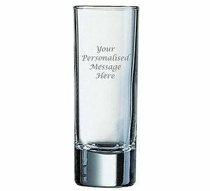 2oz Shot Glass With Your Personalised Engraving (Upto 20 Characters)