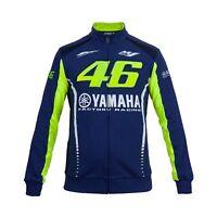 Felpa Uomo Moto-Gp Valentino Rossi Yamaha Dual M1 Originale Vr46