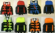 adult kids lifesaving sailing boating vest aid sports swimming life jacket