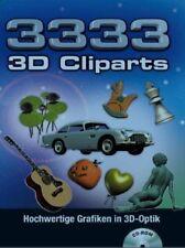 3333 3d Cliparts Cd-rom