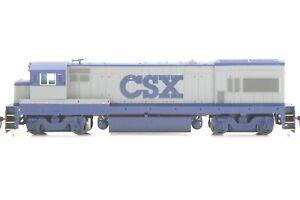 HO Atlas CSX Transportation GE U23B Powered Locomotive No Num Tested Excellent