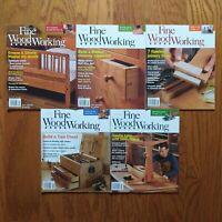 Fine Woodworking Magazine Lot 2013 (5) Issue Greene Shaker Joinery Chest Trestle