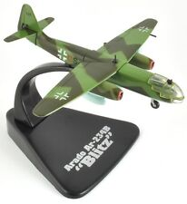 """Arado Ar-234B """"Blitz"""" Atlas 1:144 Diecast""""Giant of The Sky Collection""""(ADBOM024)"""
