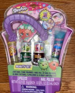 Shopkins Beauty Set Lip Gloss & Nail Polish