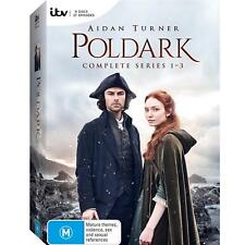 POLDARK Series : Seasons 1-3 : NEW DVD Box Set