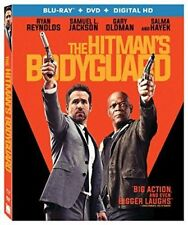 THE HITMAN'S BODYGUARD Blu-ray/DVD + Digital HD NEW + FREE SHIPPING!!! #Action