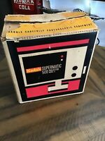 Vintage Kodak Supermatic 500 Projector Works-Tested-New in Box