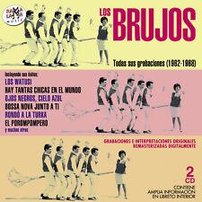 LOS BRUJOS-TODAS SUS GRABACIONES-2CD