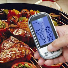 LCD Display Wireless Remote Digital Thermometer For Cooking Meat BBQ Grill Food