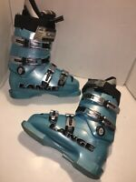 Lange World Cup 70 Team Junior Fit Ski Boots, Size 5 284mm Light Blue  Race