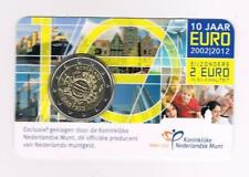 NEDERLAND 2 EURO 2012 10 JAAR EURO coincard