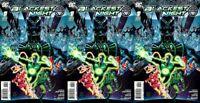 Blackest Night #1 Ethan Van Sciver Cover (2009-2010) DC Comics - 3 Comics