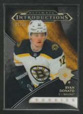 2018-19 Ultimate Collection Introductions Onyx Rookies Ryan Donato 21/25