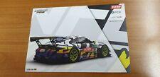 1 Autogrammkarte LUCAS LUHR  IronForce Farbe Gelb GT Masters PORSCHE Motorsport