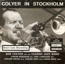 Ken Colyer and The Classic Jazz Band : Colyer in Stockholm CD (2013) ***NEW***