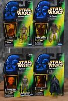 1996 1997 Kenner Star Wars POTF COLLECTION 2 & 3 LOT OF 4 Figures Free Shipping