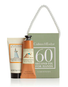 crabtree evelyn  gardeners hand  recovery set travel