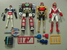 Godaikin VINTAGE Bandai 1984 Lot of 15+ Parts Laserion/Daltanus Japan METAL!!!!!