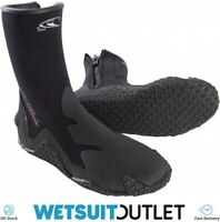 O'Neill 5mm Zipped Dive Wetsuit Boot Boots Black Unisex Neoprene Shoes Mens