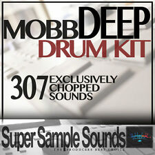 MOBB DEEP Drum Kit vinyl beats mpc60 SP1200 MV8800 MPC 2500 5000 1000 samples