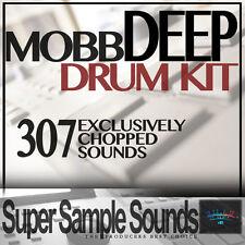 MOBB DEEP Drum Kit vinyl beats mpc60 SP1200 MV8800 MPC 2500 5000 1000 samples